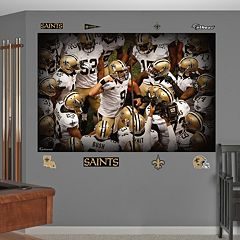 Fathead New Orleans Saints Huddle Mural Wall Decals