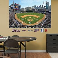 Fathead Detroit Tigers Comerica Park Mural Wall Decals