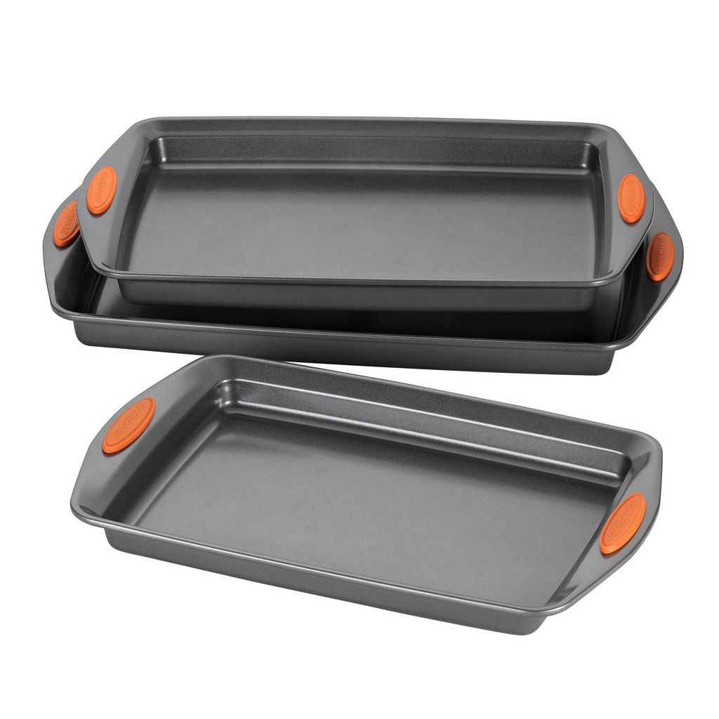 Rachael Ray Yum-o Oven Lovin' 3-pc. Nonstick Cookie Pan Set