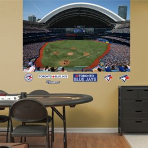 Fathead Toronto Blue Jays Stadium Mural Wall Decals