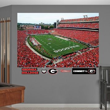 Fathead Georgia Bulldogs Sanford Stadium Wall Decals