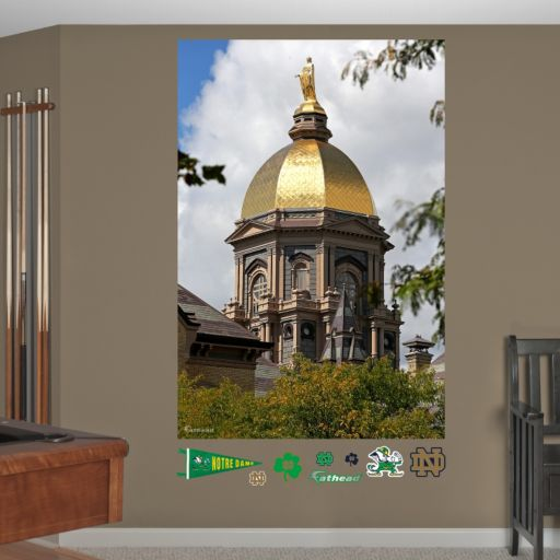 Fathead Notre Dame Fighting Irish Golden Dome Mural Wall Decals