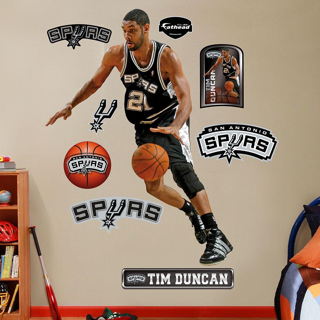 Fathead San Antonio Spurs Tim Duncan Wall Decals