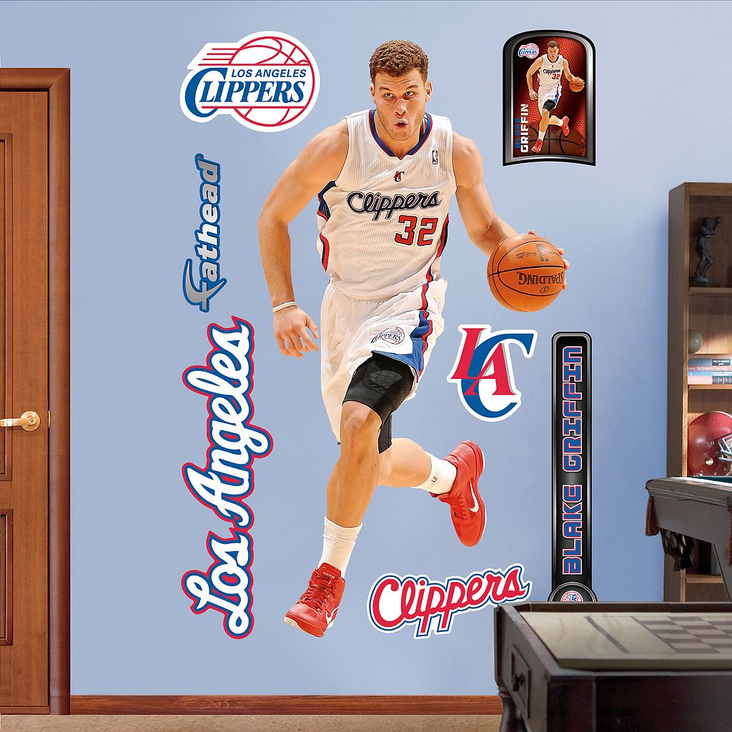 Fathead Los Angeles Clippers Blake Griffin Wall Decals