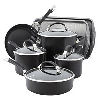 Circulon Symmetry Nonstick Hard-Anodized 11 pc Cookware Set