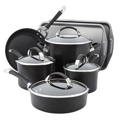 Circulon Symmetry Nonstick Hard-Anodized 11-pc. Cookware Set