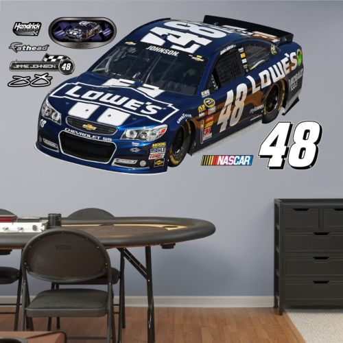 Fathead Jimmie Johnson Wall Decals