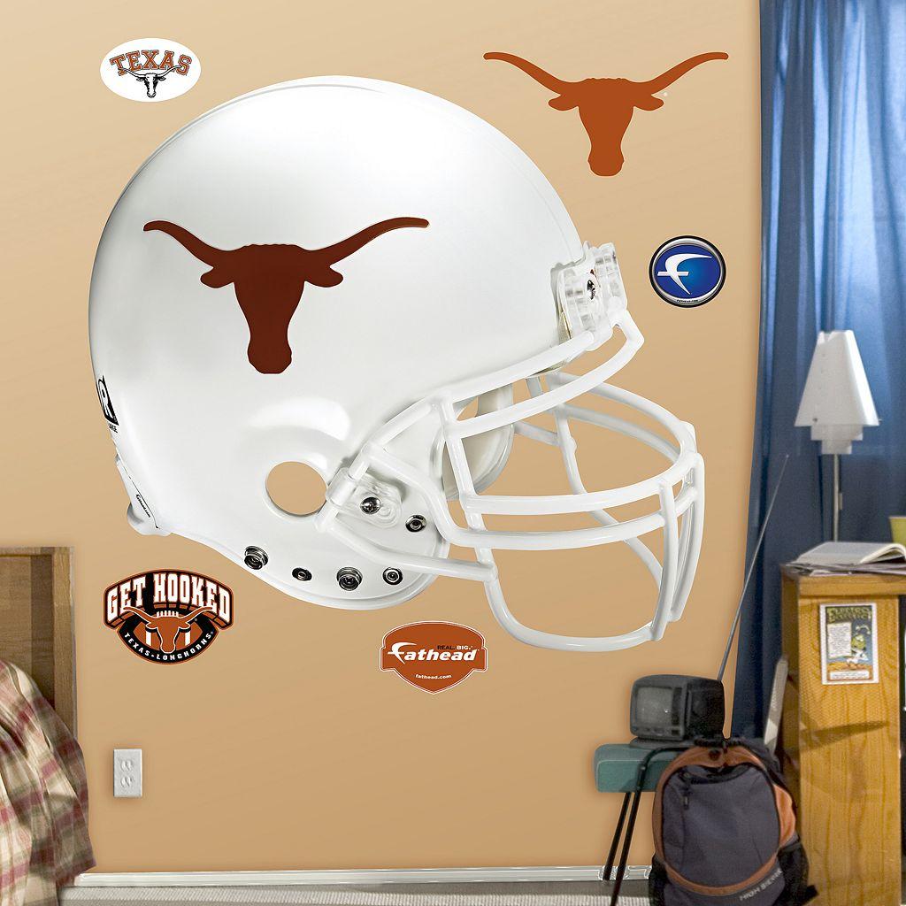 Fathead Texas Longhorns Helmet Wall Decals