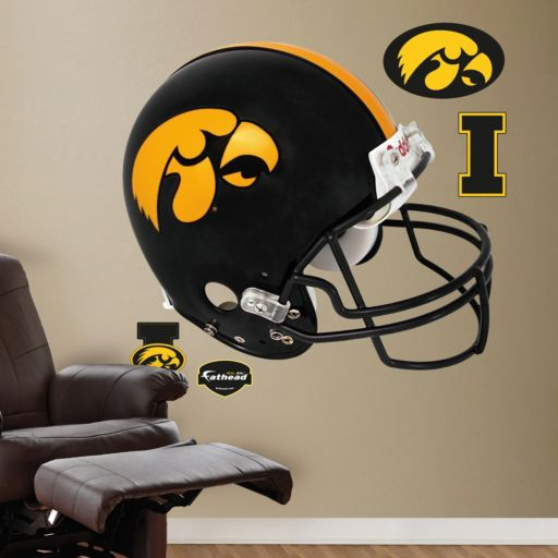 Fathead Iowa Hawkeyes Helmet Wall Decals