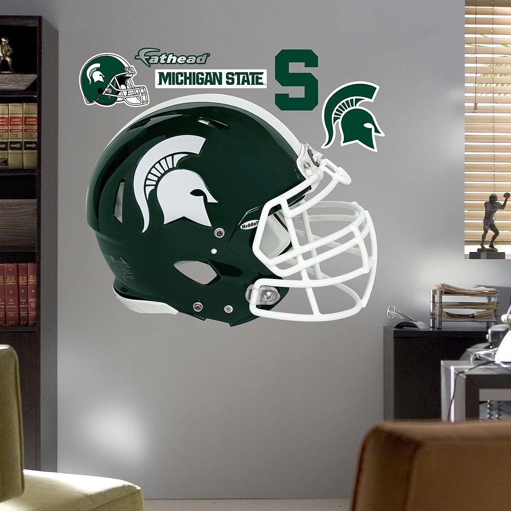 Fathead Michigan State Spartans Helmet Wall Decals