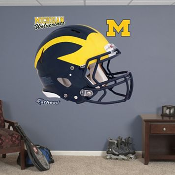 Fathead Michigan Wolverines Helmet Wall Decals