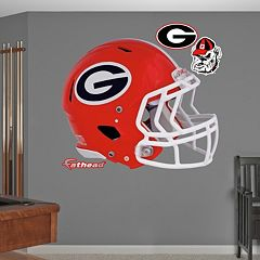 Fathead Georgia Bulldogs Helmet Wall Decals