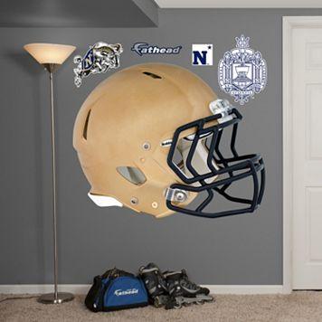 Fathead U.S. Naval Academy Midshipmen Helmet Wall Decals