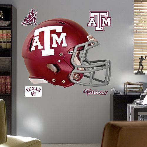 Fathead Texas A&M Aggies Helmet Wall Decals