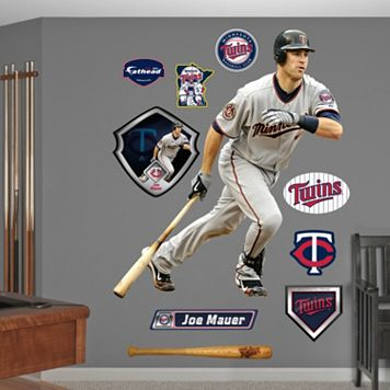 Fathead Minnesota Twins Joe Mauer Wall Decals