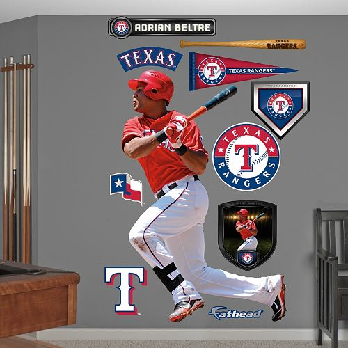 Fathead Texas Rangers Adrian Beltre Wall Decals