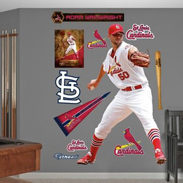 Fathead St. Louis Cardinals Adam Wainwright Wall Decals