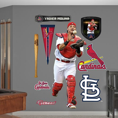 Fathead St. Louis Cardinals Yadier Molina Wall Decals