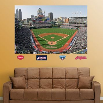 Fathead Cleveland Indians Stadium Mural Wall Decals