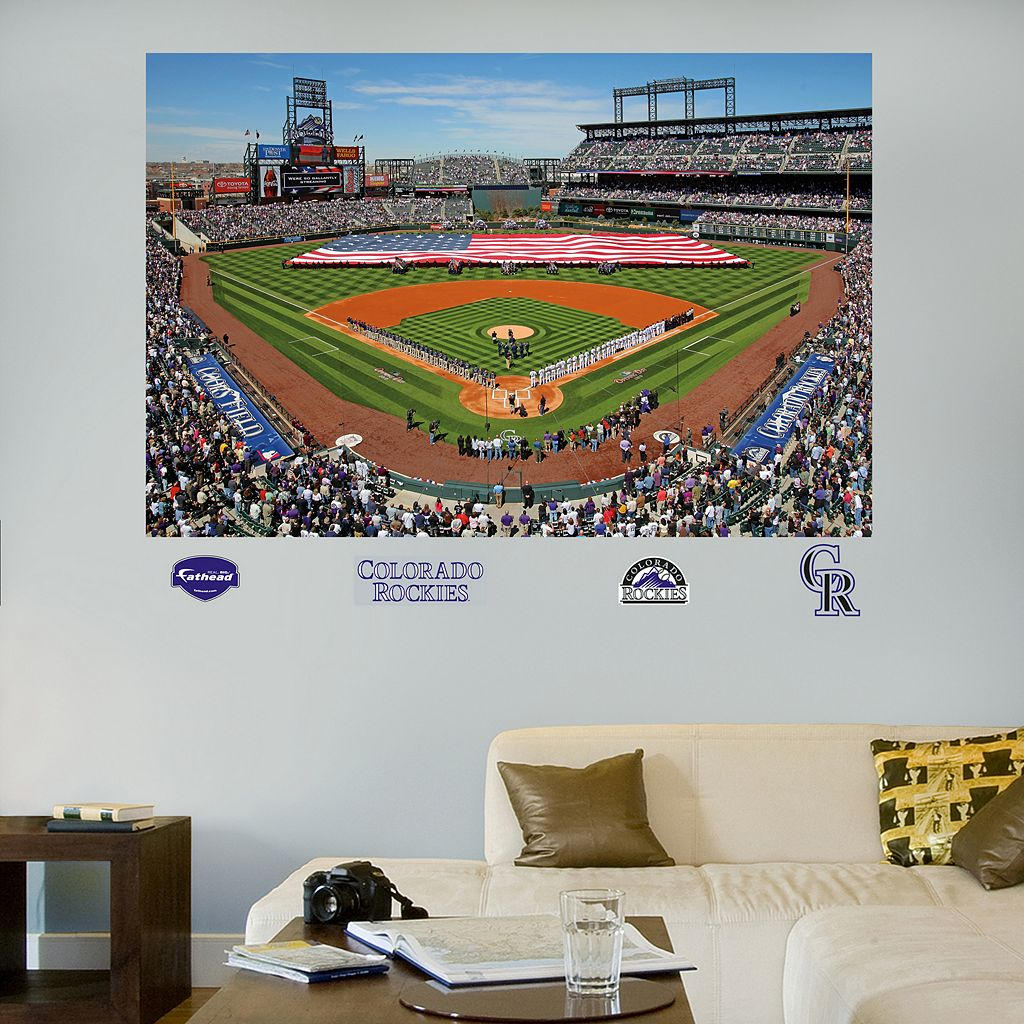 Fathead Colorado Rockies Stadium Mural Wall Decals