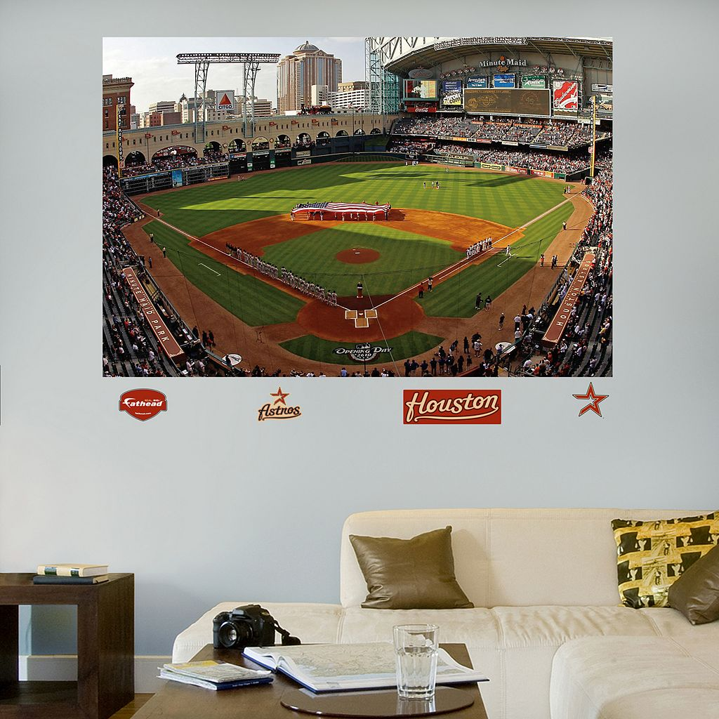 Fathead Houston Astros Stadium Mural Wall Decals