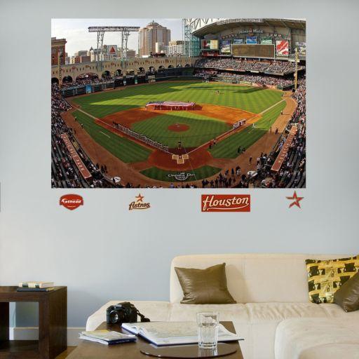 Fathead Houston Astros Stadium Mural Wall Decals