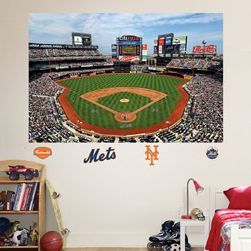 Fathead New York Mets Stadium Mural Wall Decals
