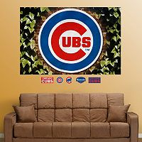 Fathead Chicago Cubs Ivy Logo Mural Wall Decals