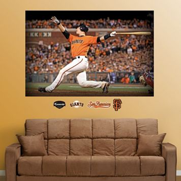 Fathead San Francisco Giants Buster Posey Mural Wall Decals
