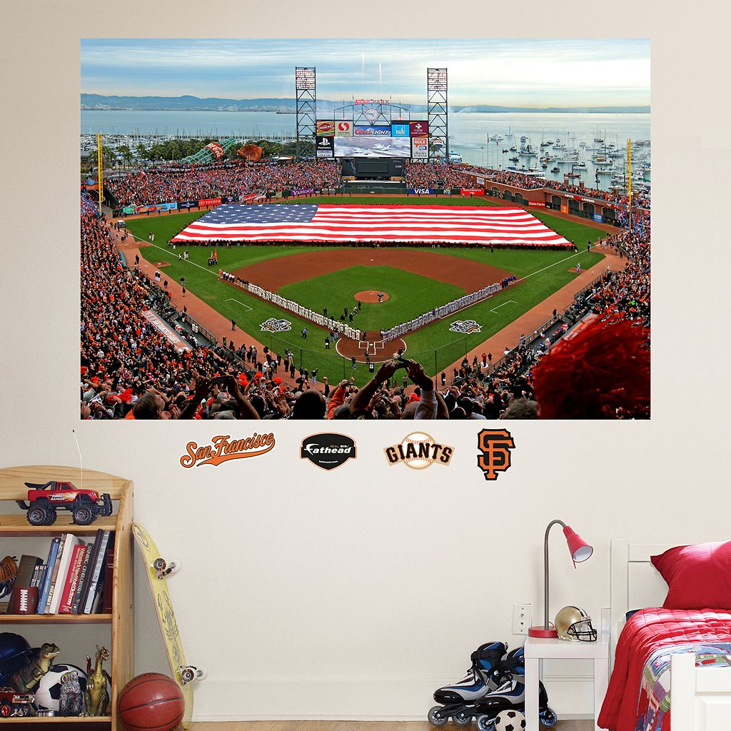 Fathead San Francisco Giants Stadium Mural Wall Decals