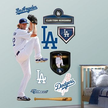 Fathead Los Angeles Dodgers Clayton Kershaw Wall Decals