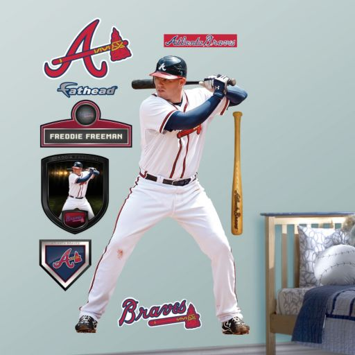 Fathead Atlanta Braves Freddie Freeman Wall Decals
