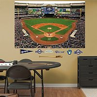 Fathead Milwaukee Brewers Stadium Mural Wall Decals