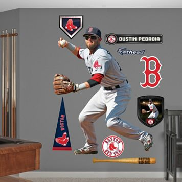 Fathead Boston Red Sox Dustin Pedroia Wall Decals