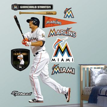Fathead Miami Marlins Giancarlo Stanton Wall Decals