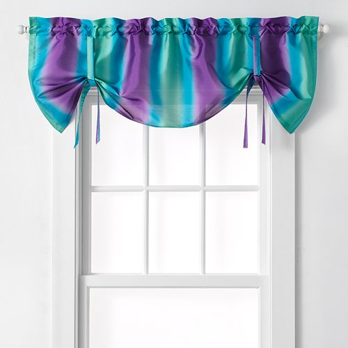"CHF Rainbow Ombre Window Valance - 50"" x 25"""