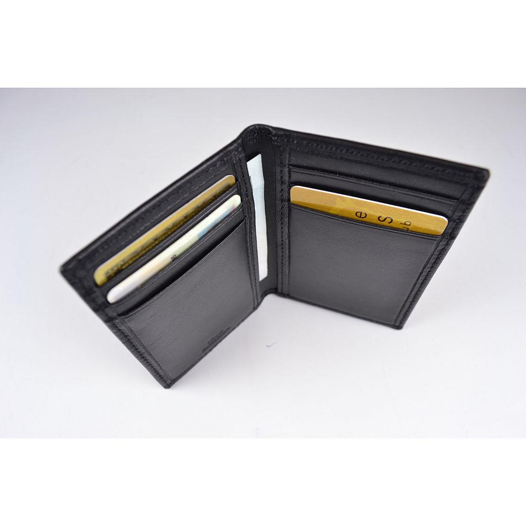 Royce Leather Hanover RFID-Blocking Card Case