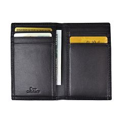 Royce Leather Hanover RFID-Blocking Card Case