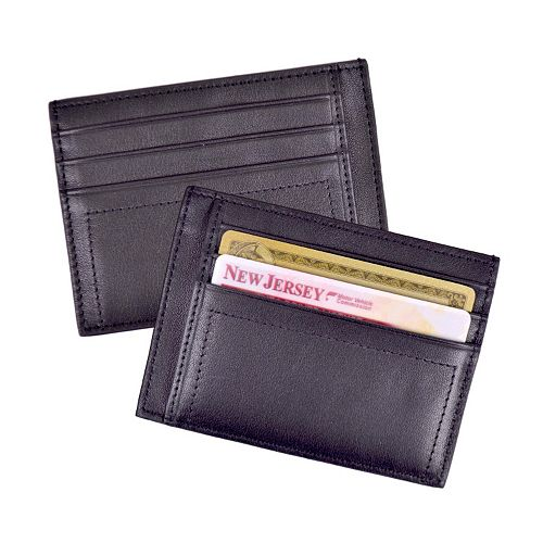 Royce Leather Nappa Prima Men's Card Case
