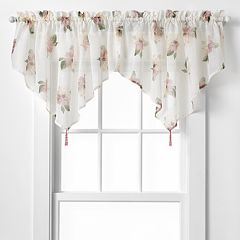 CHF Waterlilly Scroll Ascot Window Valance - 54' x 25'