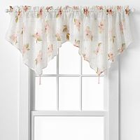 CHF Waterlilly Scroll Ascot Window Valance - 54