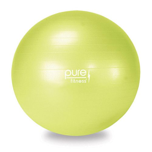 Pure Fitness 21.7-in. Fitness Ball with Pump