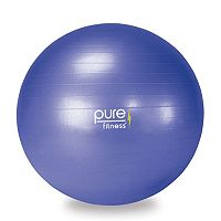 Pure Fitness 25.6 in Fitness Ball with Pump