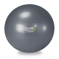 Pure Fitness 29.5 in Fitness Ball with Pump