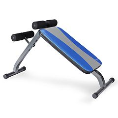 Pure Fitness Ab Crunch & Sit-Up Bench