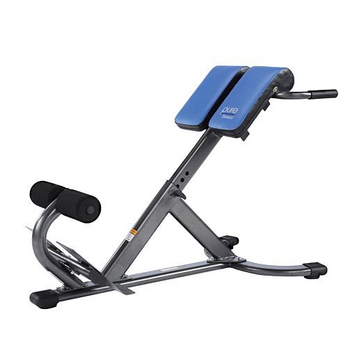 Super Pure Fitness Hyperextension Bench Ibusinesslaw Wood Chair Design Ideas Ibusinesslaworg