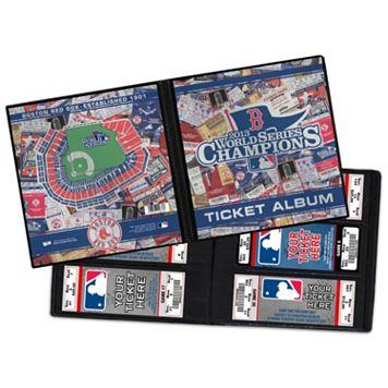 Boston Red Sox 2013 World Series Champions Ticket Album