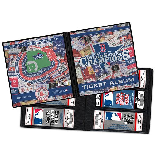 Boston Red Sox 2013 World Series Champions Ticket Album
