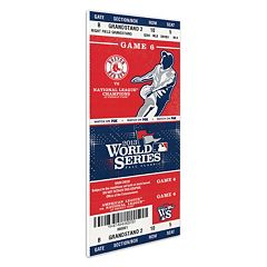 Boston Red Sox 2013 World Series Game 6 Mini-Mega Ticket