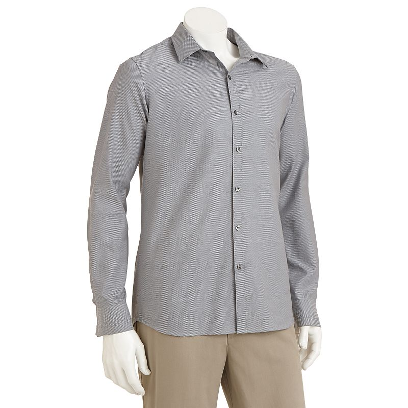 Slim fit dress shirt kohl 39 s for Tony collar dress shirt